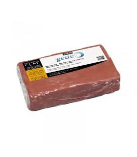 Argile auto-durcissante rouge 1.5kg Pébéo