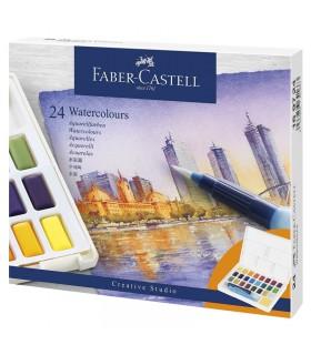 24 Demi-Godets Aquarelle Faber-Castell