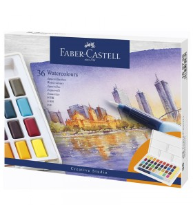 36 Demi-Godets Aquarelle Faber-Castell