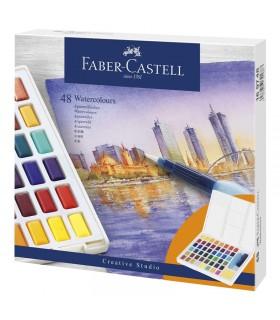 48 Demi-Godets Aquarelle Faber-Castell