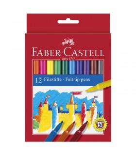 12 Feutres scolaires Faber-Castell