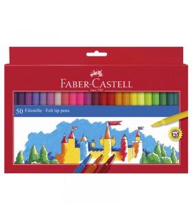 50 Feutres scolaires Faber-Castell