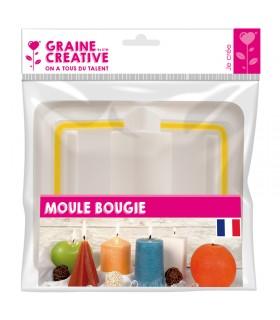 Moule Bougie Cylindre ø50mm Graine créative