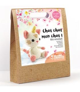Kit Crochet Chat chat mon chat ! Graine créative