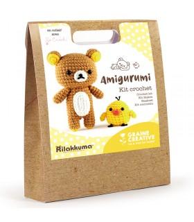 Kit Crochet Rilakkuma ! Graine créative