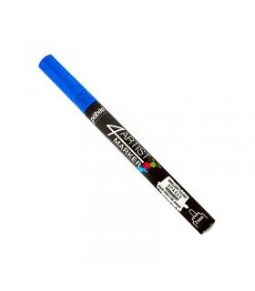 4Artist Marker Bleu foncé pointe ronde 2 mm