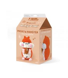 Kit Amigurumi Pochi le Hamster Graine créative