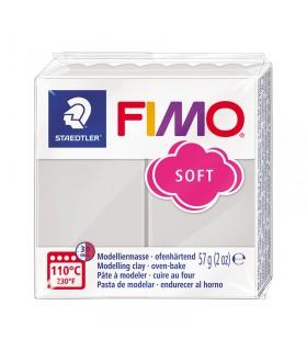 Pâte Fimo Soft Gris 80 57g