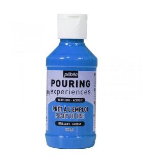 Bleu Cyan n°17 Pouring Pébéo 118ml