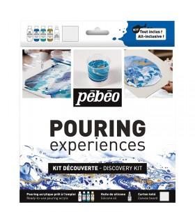 Kit  Découverte Peinture Acrylique Pouring Pébéo