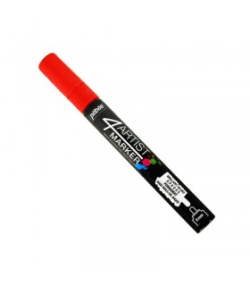 4Artist Marker Rouge pointe ronde 4 mm