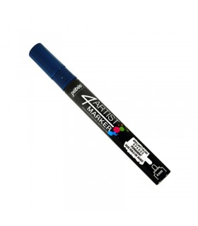 4Artist Marker Bleu profond pointe ronde 4 mm