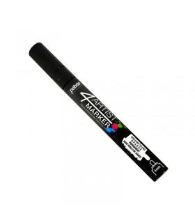 4Artist Marker Noir pointe ronde 4 mm