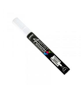 4Artist Marker Blanc pointe ronde 4 mm
