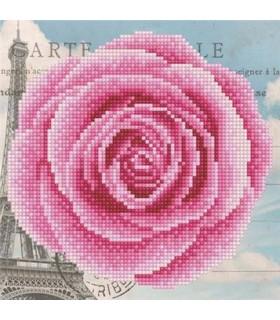 Diamond Art Rose