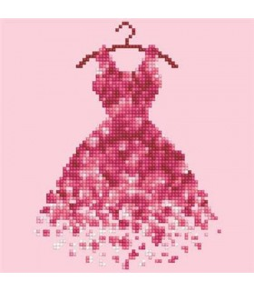Diamond Art Robe Rose