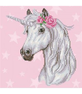 Diamond Art Licorne
