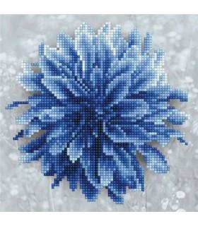 Diamond Art Dalhia Bleu