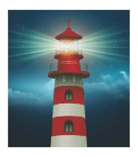 Diamond Art Phare
