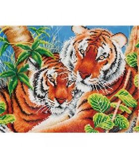 Diamond Dotz Tendres Tigres