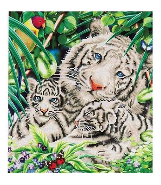Diamond Dotz Tigresse et Petits