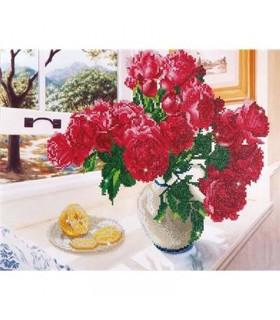 Diamond Dotz Roses près de la fenêtre