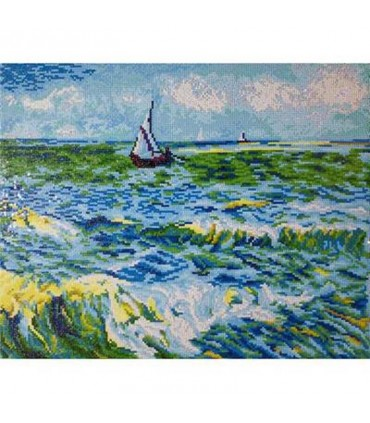 Diamond Dotz Paysage Marin Sainte-Maries Van Gogh