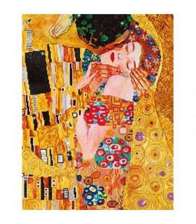 "Diamond Dotz ""Le Baiser"" de Klimt"