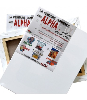 Châssis coton Alpha Nid'Art