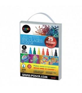 Kit 6 marqueurs Les petits bricolages Posca
