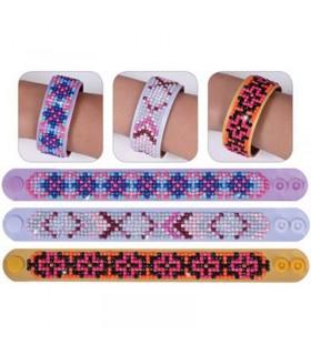 Diamond Dotz 3 bracelets Dessins Géométriques