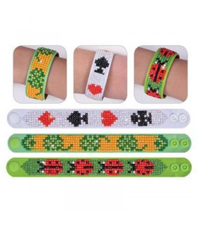 Diamond Dotz 3 bracelets Porte Bonheur