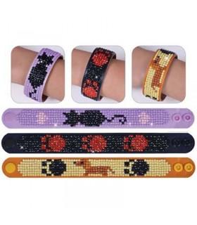 Diamond Dotz 3 bracelets Chiens et Chats