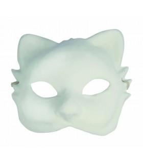 Masque Plâtre Venise Chat 2 Artémio