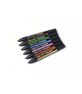 6 feutres Promarkers Tons Moyens