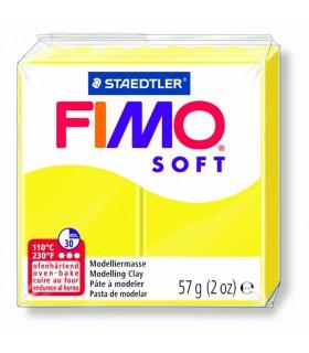 Pâte Fimo Soft Citron 10 57g