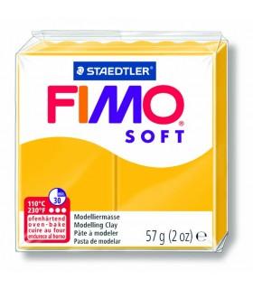Pâte Fimo Soft Jaune soleil 16 57g