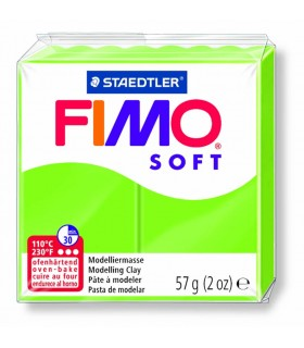 Pâte Fimo Soft Vert Pomme 50 57g