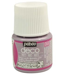 Peinture acrylique pébéo Déco 060 Cendre Violette Mat