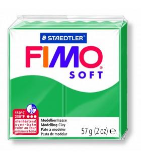 Pâte Fimo Soft Vert Sapin 56 57g
