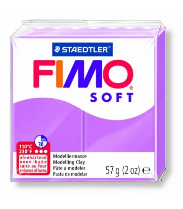 Pâte Fimo Soft Lavande 62 57g