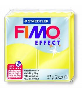 Pâte Fimo Effect Transparente Jaune 104 57g