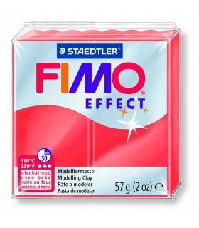 Pâte Fimo Effect Transparente Rouge 204 57g