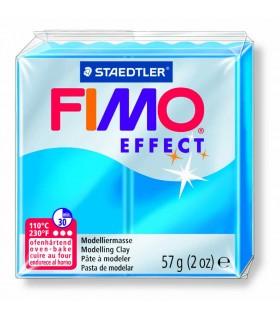 Pâte Fimo Effect Transparente Bleu 374 57g