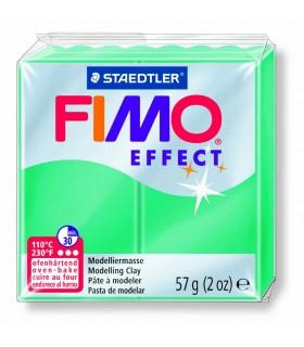 Pâte Fimo Effect Transparente Vert 504 57g