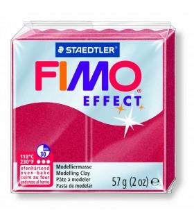 Pâte Fimo Effect Metallique Rubis 28 57g