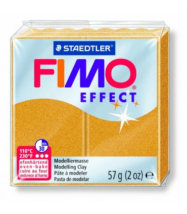 Pâte Fimo Effect Metallique Or 11 57g