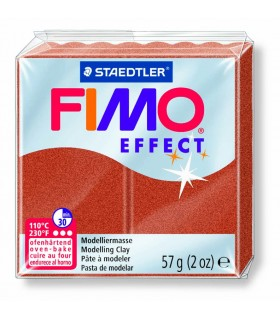Pâte Fimo Effect Metallique Cuivre 27 57g