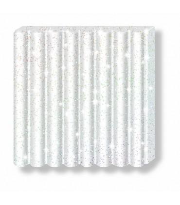 Pâte Fimo Effect Pailletée Blanc 052 57g
