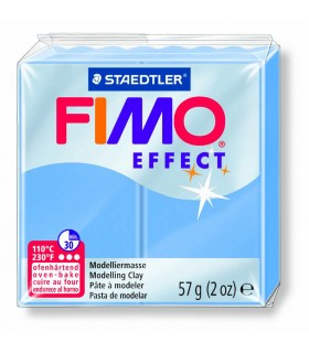 Pâte Fimo Effect Bleu Agathe 386 57g